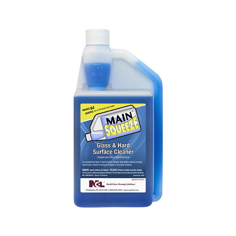 Main Squeeze Glass & Hard Surface Cleaner, 32 oz.