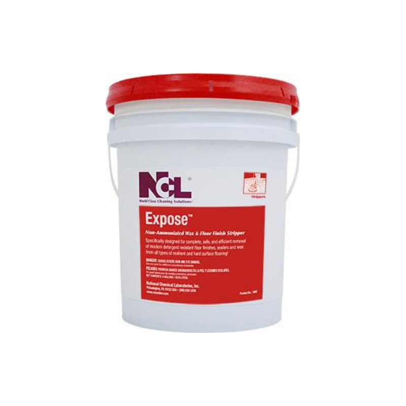 Expose Non-Ammoniated Wax and Floor Finish Stripper, 5 Gal (Each)