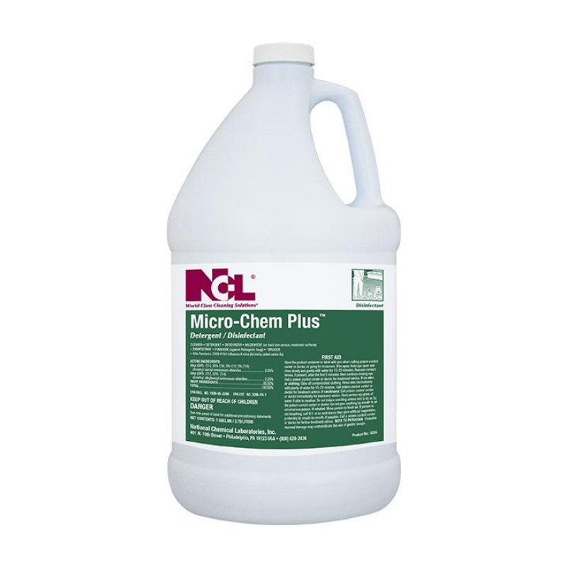 Micro-Chem Plus Detergent / Disinfectant, 1 gal (Carton of 4) All NCL products are on a 2 week lead time