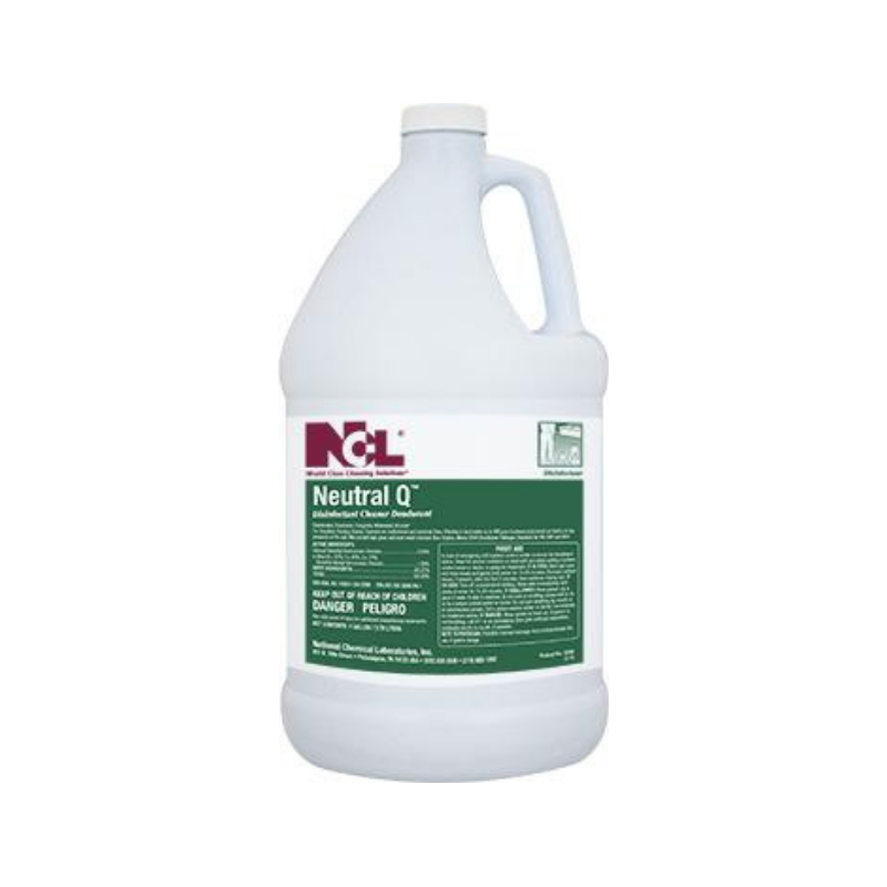 Neutral-Q Disinfectant Cleaner, 1 gal (Carton of 4) All NCL products are on a 2 week lead time