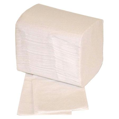 "BelleMarque ""Low1""-Low Fold Napkins-White(10.87"" x 5"")"