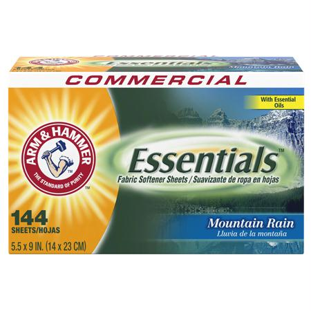 Arm & Hammer Essentials Dryer Sheets(144 ct.)