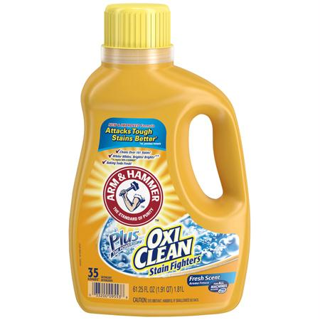 Arm & Hammer Laundry Detergent Plus OxiClean HE(61.25 oz.)