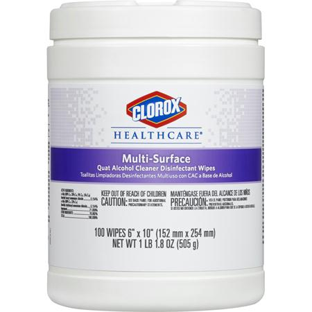 Clorox Healthcare Multi-Surface Cleaner Disinfectant Wipe(100 ct.)