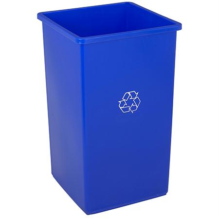 Continental Square SwingLine Recycle Receptacle(25 Gal.)