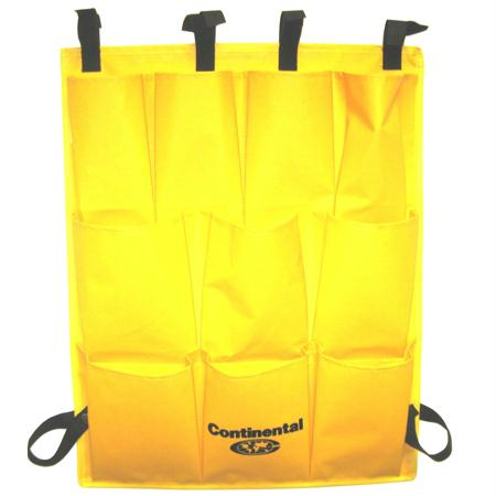 Continental 10 Pocket Vinyl Caddy Bag-Yellow