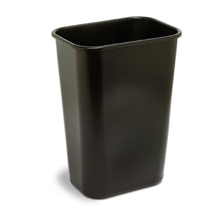 Continental Plastic Rectangular Wastebasket(41 1-4 Qt.)