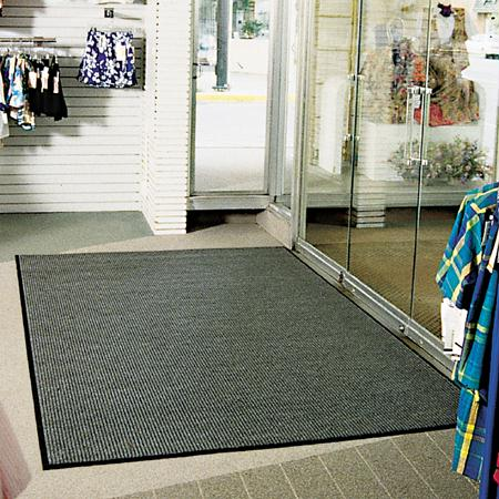 Crown Needle-Rib Entrance Mats-Charcoal(3' x 5')