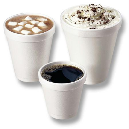 Dart Foam Drink Cups(10 oz. Greek Key Design)