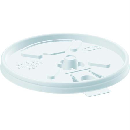 Dart Lift n' Lock Lids-White