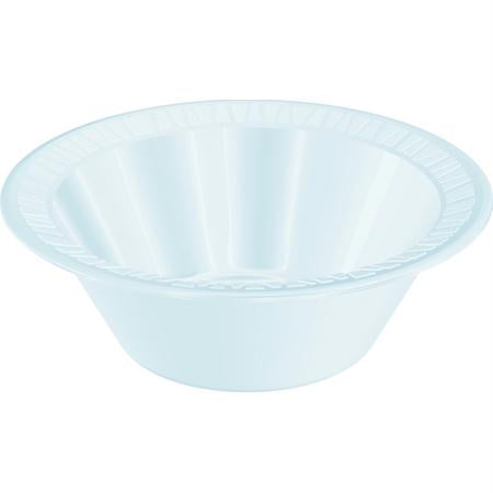 Dart Quiet Classic Foam Plastic Bowls-White(5 to 6 oz.)