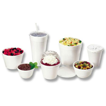 Dart Foam Food Containers(8 oz.)