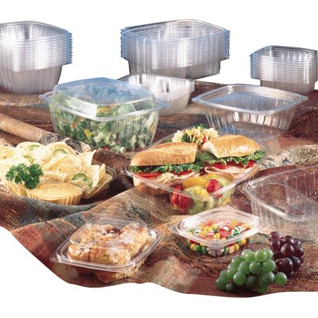 Dart ClearPac Containers and Lids-Clear(6 oz.)