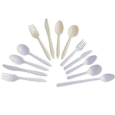 Dart Style Setter Cutlery-White(Teaspoon)