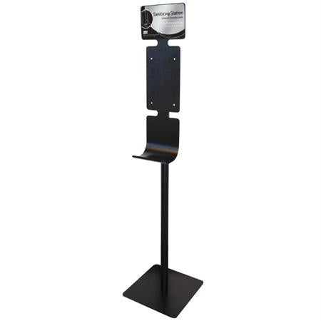 Deb Floor Stand For Hand Sanitizing Station-Black