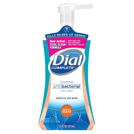 Dial Complete Antimicrobial Foaming Hand Soap(7.5 oz.)
