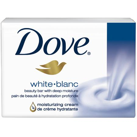 Dove White Regular Bar Soap(3.17 oz. Bar)