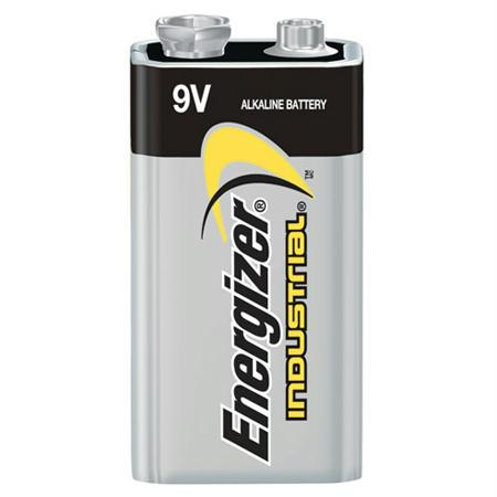 Energizer Industrial Alkaline 9 Volt Battery(12 per pack)