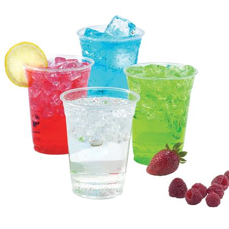 Fabri-Kal Translucent Cold Cups(32 oz. w-Sidewall Rings)