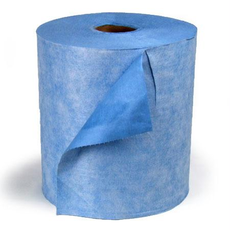 "Jumbo Blue Wiper Roll-Blue(13.4"" x 12"")"