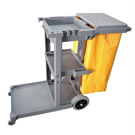 Microfiber & More Maid Cart w-Nylon Bag