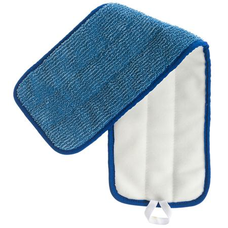 "Microfiber & More Blue Low Nap Velcro Back Mop(24"")"
