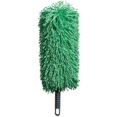 "Microfiber & More 12"" Duster Complete-Green"