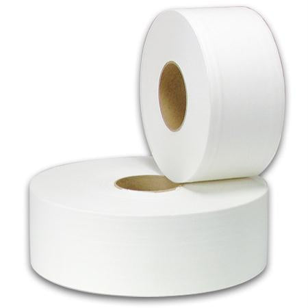 "New Generation Jumbo Roll Toilet Tissue-White(12"")"