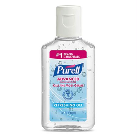 GOJO Purell Advanced Instant Hand Sanitizer(1 oz.)