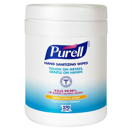 GOJO Purell Sanitizing Wipes(270 ct.)