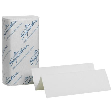 "Georgia-Pacific Signature 2 Ply Premium Multifold Towel-White(9.2"" x 9.4"")"