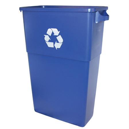 Impact 23 Gal. Thin Bin Recycle Container