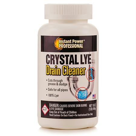 Instant Power Crystal Lye Drain Cleaner(1 lb.)