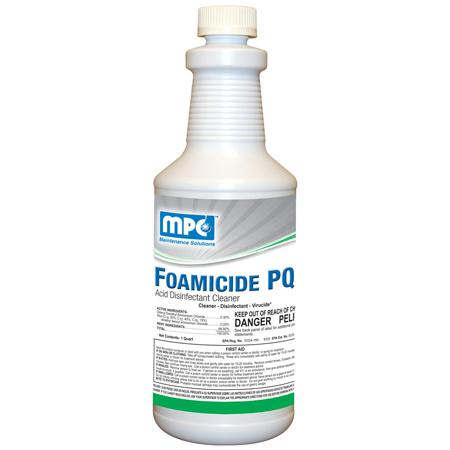 MPC Foamicide PQ Acid Disinfectant Cleaner(Qt.)