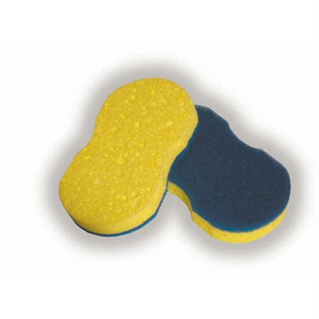 Advantage Cool Blue Contour Scrubber Sponge