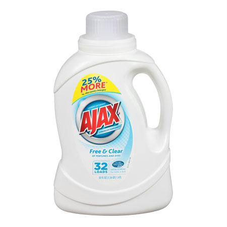 Ajax Free & Clear Liquid Laundry(50 oz.)