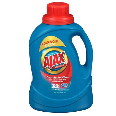 Ajax Dual Action Liquid Laundry(50 oz.)