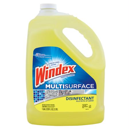 Windex Multi-Surface Disinfectant(Gal.)