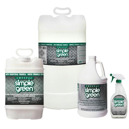 Simple Green Crystal Industrial Cleaner-Degreaser(55 Gal. Drum)