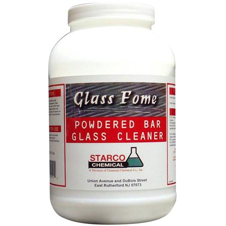 Starco Glass Fome Powdered Bar Glass Cleaner(8 lb.)