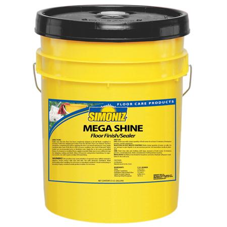 Simoniz Mega Shine Floor Finish-Sealer(5 Gal.)