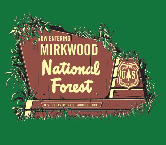 Mirkwood National Forest