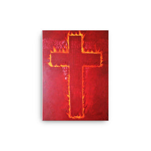 Then the Lord Light Art Canvas