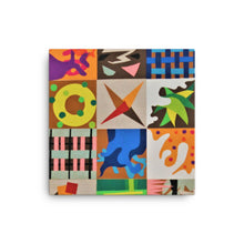 Mosaic Collage Art Canvas