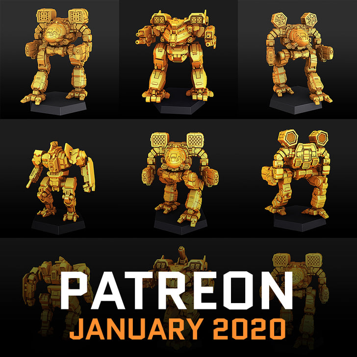 January 2020 on Patreon
