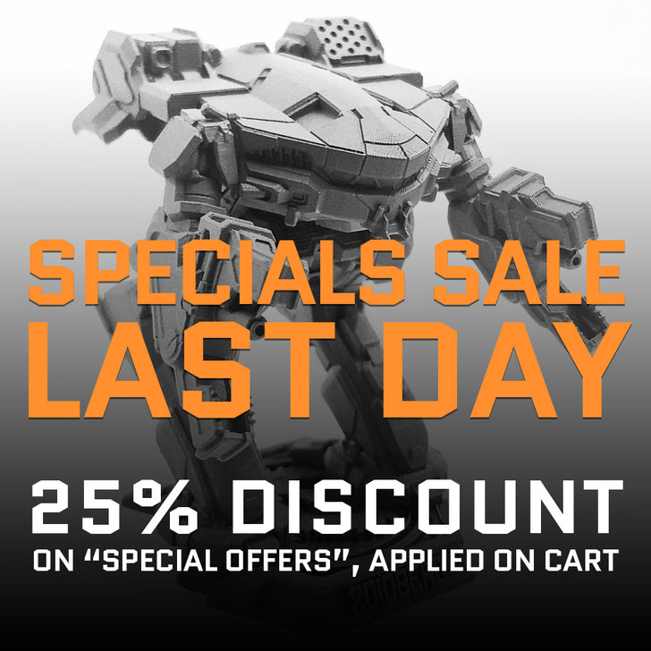 SPECIALS SALE, LAST DAY!!!