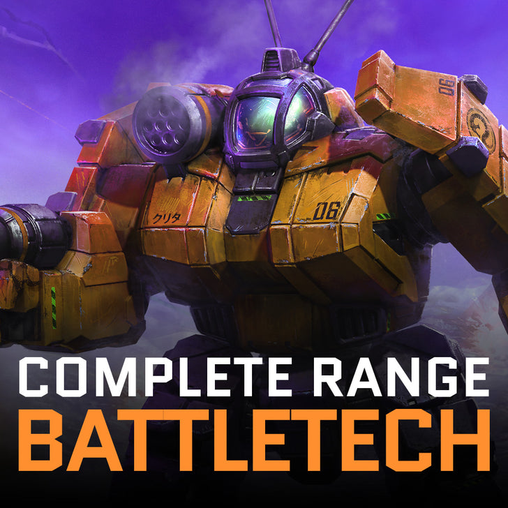 OFFICIAL BATTLETECH PRODUCTS AVAILABLE