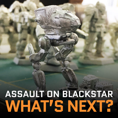 WHAT'S NEXT & ASSAULT ON BLACKSTAR