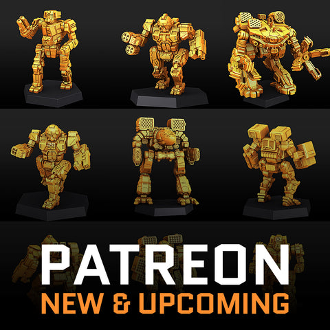 PATREON - New & Upcoming
