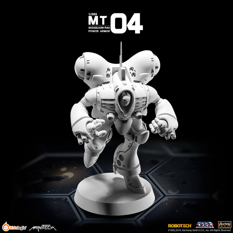 MT04 1/285 Robotech Macross Queadluun-Rau Power Armor